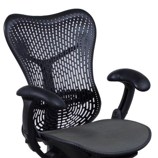 Herman Miller Mirra Used Mesh AirWeave Seat Task Chair Black