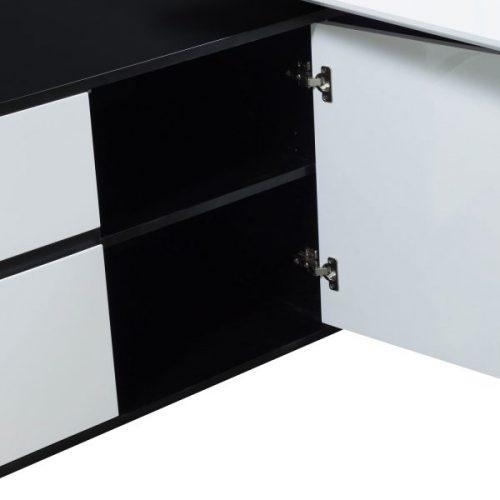 Morgan-2218-Black and White Veneer-Left-07