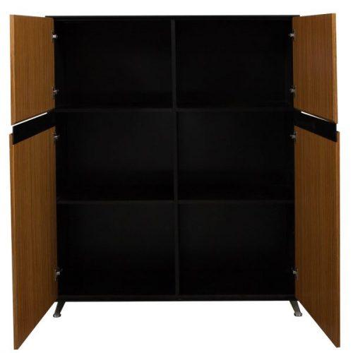 Morgan-Zebra and Black Veneer-Storage Cabinet-02