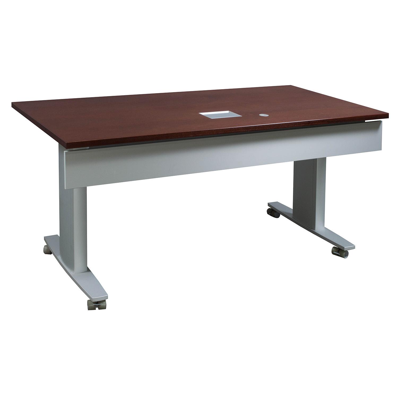 Nienkamper Vox Delegate Used Training Table Mahogany