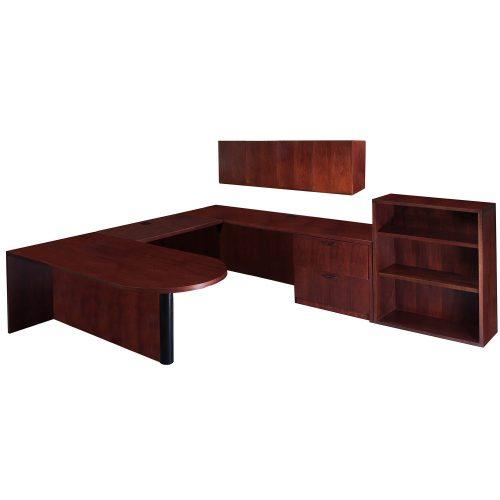 Steelcase-Ushape-Desk-right-1lat-No Tack Board-01