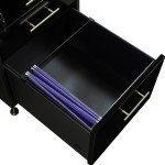 Morgan-Black Double Pedestal Desk-04
