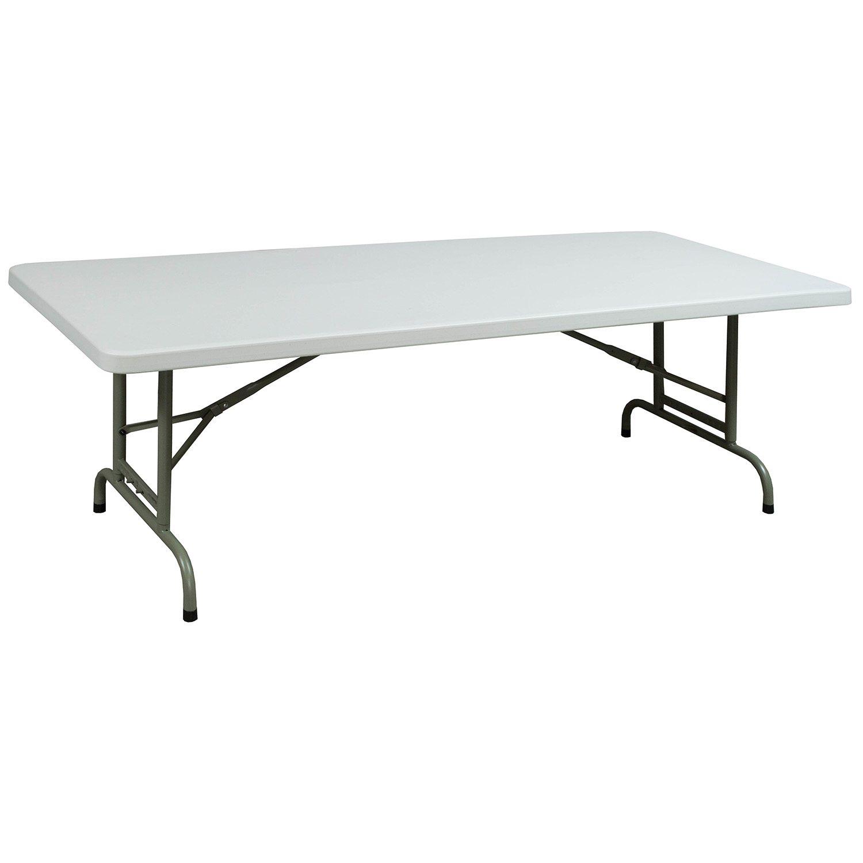 GoSIT Adjustable Height Plastic 30 X 72 Folding Table ...