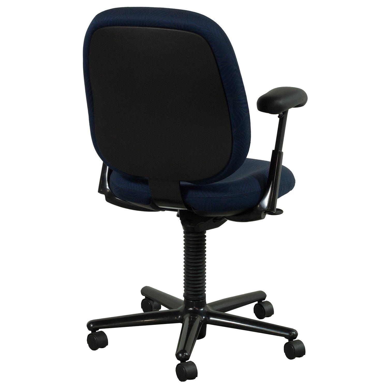 Herman Miller Ergon Used High Back Task Chair Blue Leaf