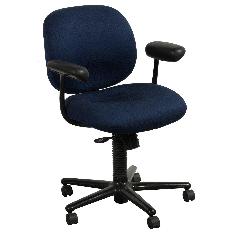 Herman miller ergon used mid back task chair blue leaf for Hermann muller chairs