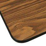 Laminate Folding Table-Adjustable Height-Oak-04