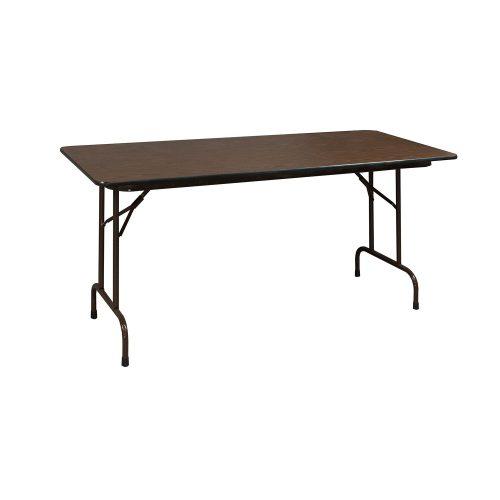 Oak Folding Table-24x48-01