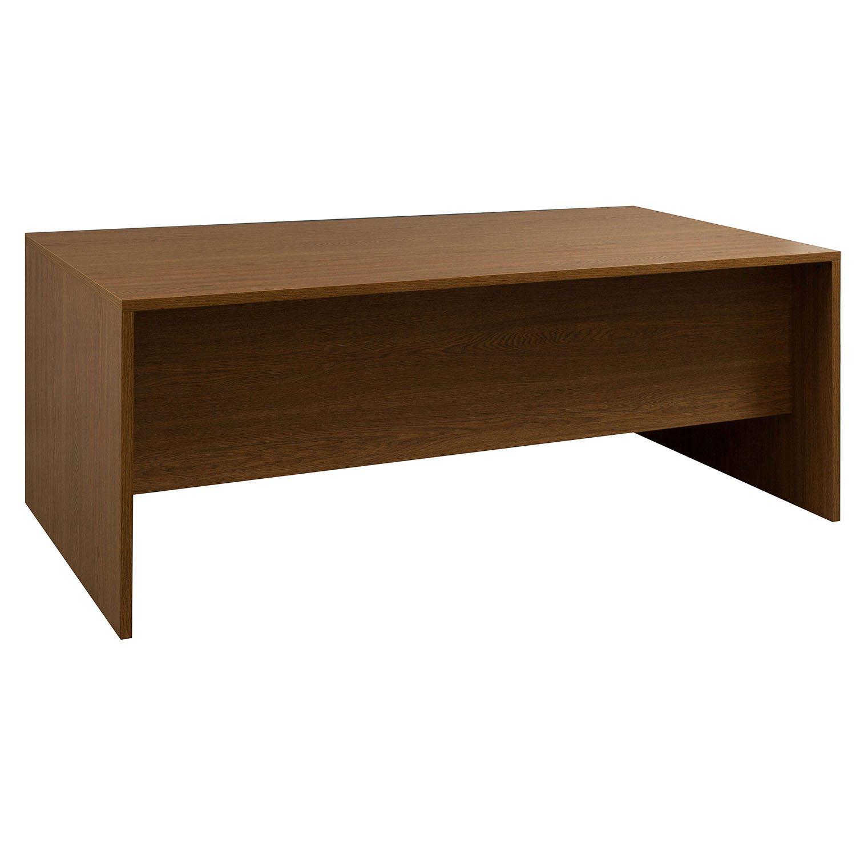 Laminate 36 215 72 Double Pedestal Used Desk Oak National