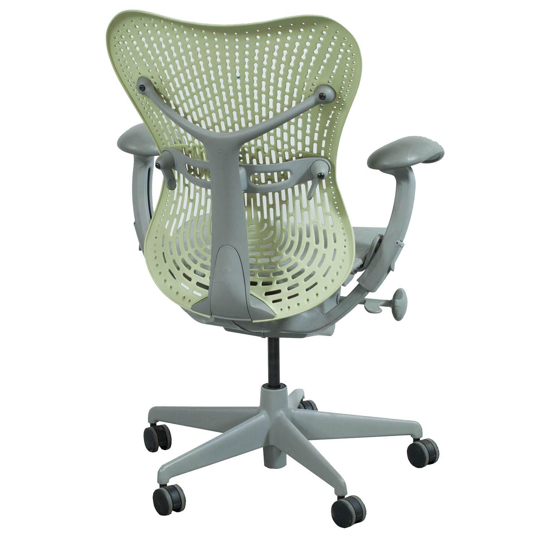 herman miller mirra used mesh seat pistachio national. Black Bedroom Furniture Sets. Home Design Ideas