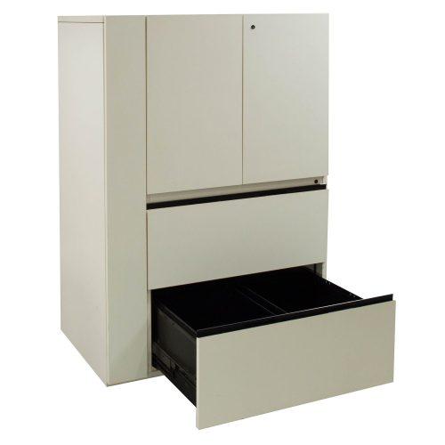 Utility Cabinet-White Laminate-02