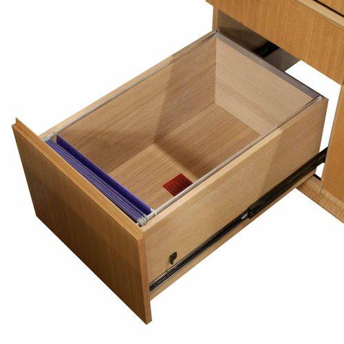Haworth-Right Return-Maple Desk-Bullet Topt-04