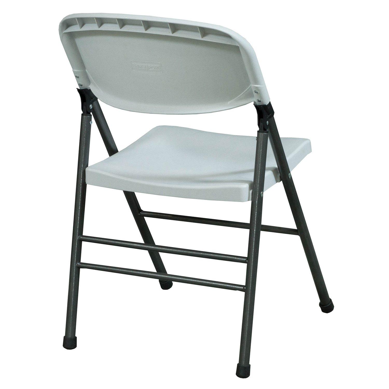 Bridgeport Used Plastic Folding Chair White