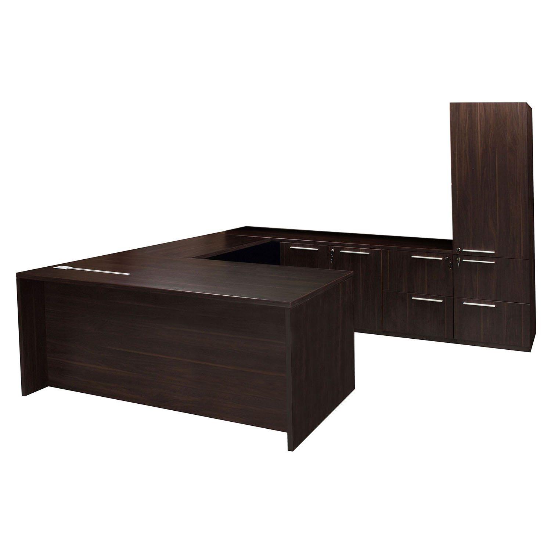 Denmark Executive U Shape Right Return Desk Set No Hutch