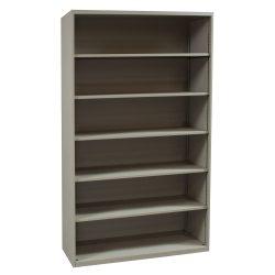 Teknion-6 Shelf Bookcase-Putty-01