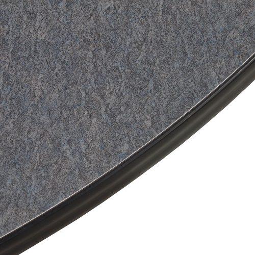 Vecta-Half Round Gray Laminate Table-02