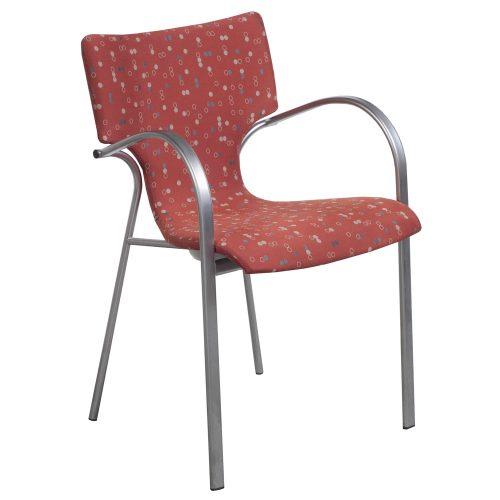 Bernhardt Strada-Dot Pattern-Stack Chair-01