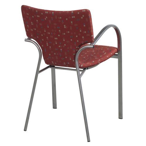 Bernhardt Strada-Dot Pattern-Stack Chair-03
