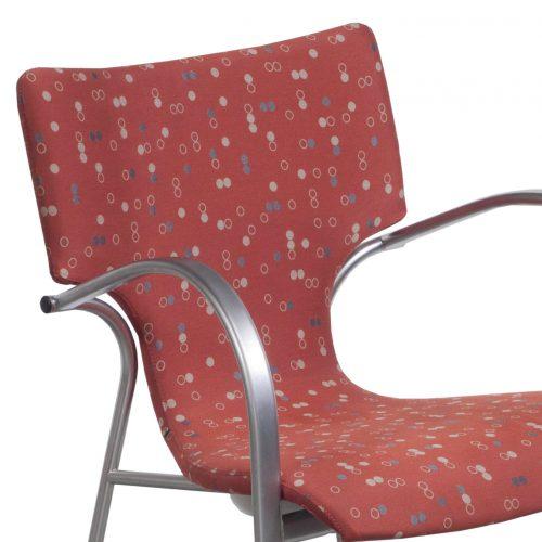 Bernhardt Strada-Dot Pattern-Stack Chair-04