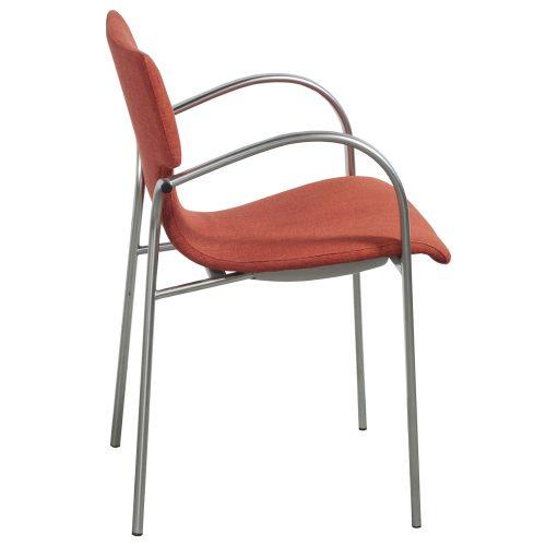 Bernhardt Strada-Orange-Stack Chair-02