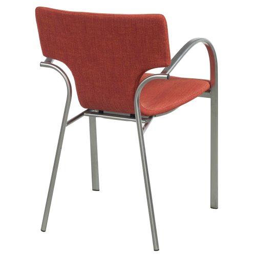 Bernhardt Strada-Orange-Stack Chair-03