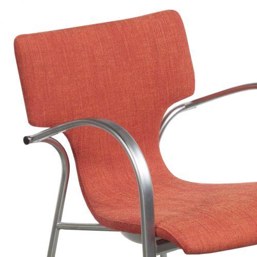 Bernhardt Strada-Orange-Stack Chair-04