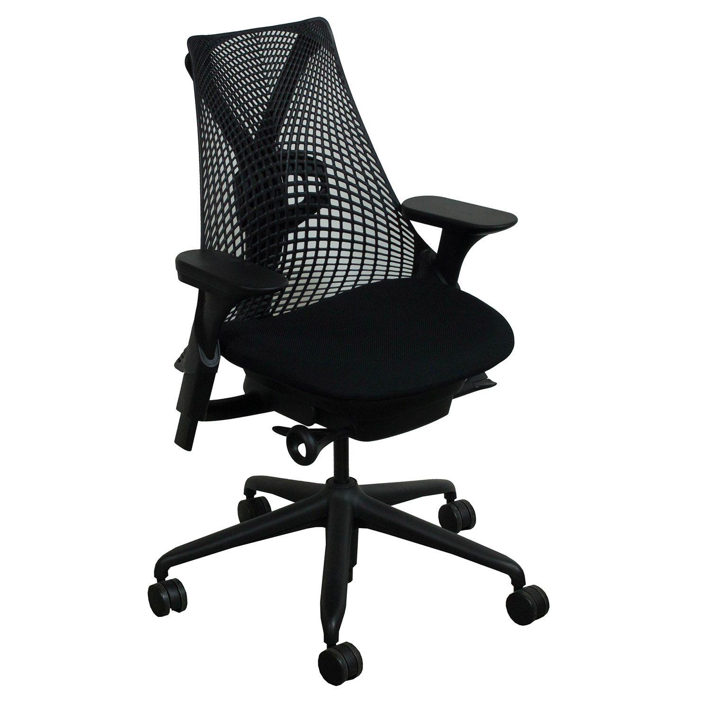 Herman Miller Sayl Used Task Chair Black National