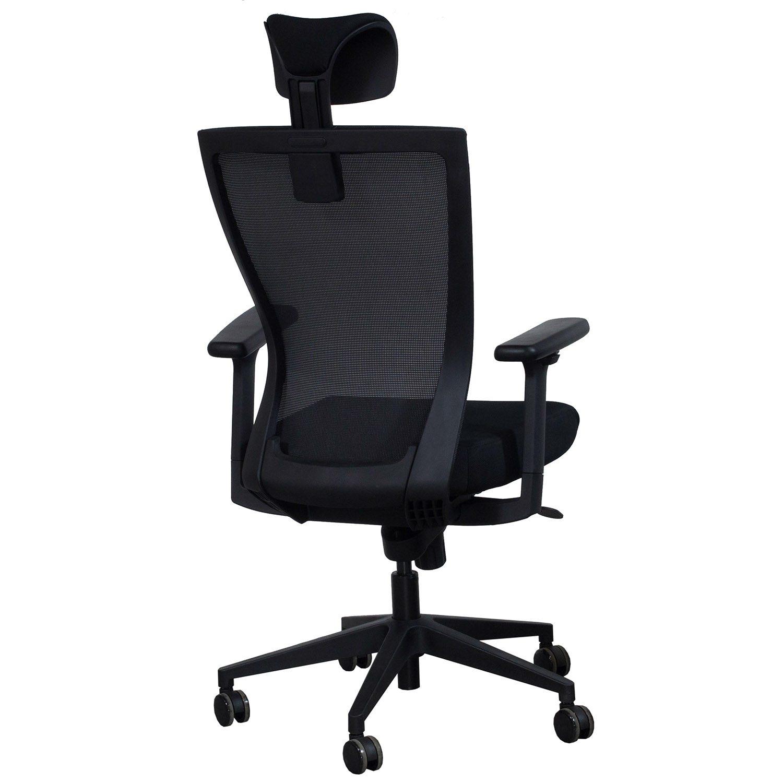 Navigator by goSIT Big & Tall Task Chair w Headrest Black