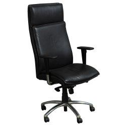 Cabot Wrenn-Executive High Back-Black Leather-01
