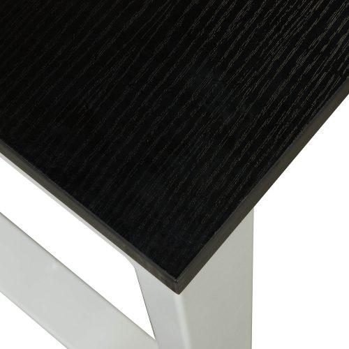 Morgan-Executive-Front Shelf-Black and White-Left-05