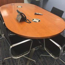 7.5-Cherry Veneer-Conference Table set-01