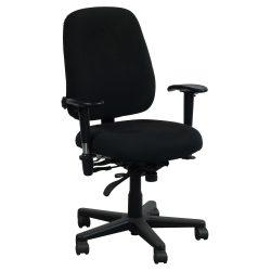 Office Master PT78-Swivel Arm-Black-01