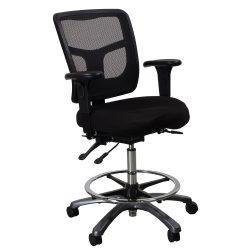 Office Master-YS75-Stool-Black-01