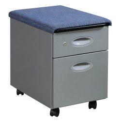 Steelcase-BF Pedestal-Blue Pattern Top-01