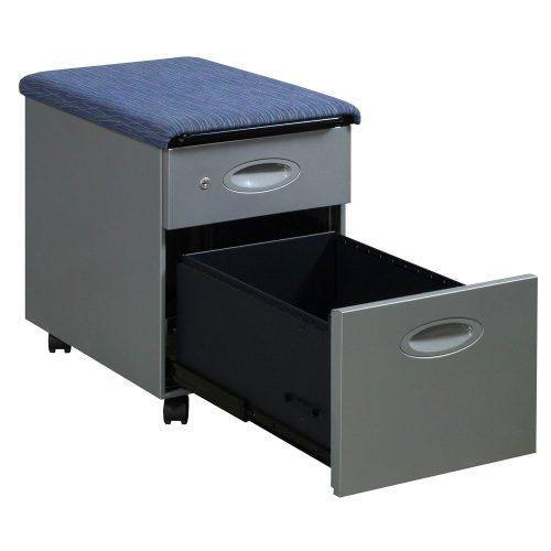 Steelcase-BF Pedestal-Blue Pattern Top-03