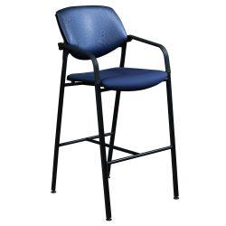 Steelcase-Vecta Kart-Stool-Blue-01