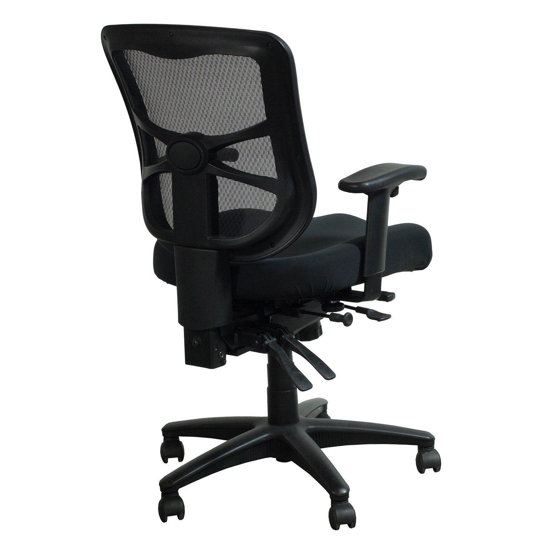 Alera Elusion Series Used Mesh Mid Back Chair Black