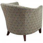 Bernhardt-Brown pattern club chair-03