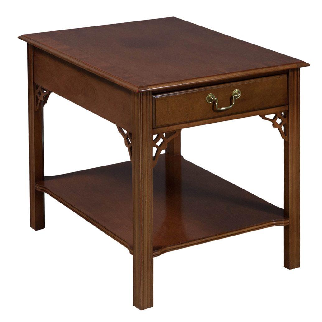 Bernhardt Used Veneer End Table Walnut National Office