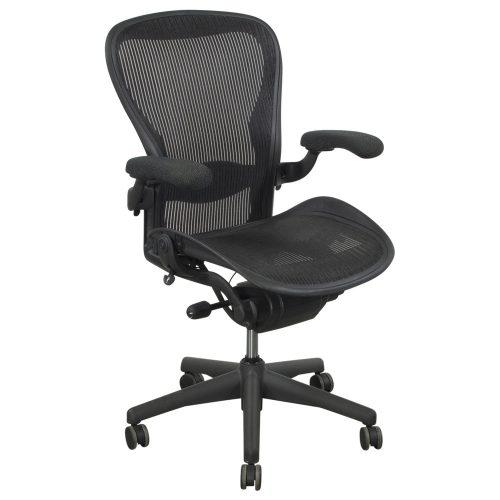 Herman Miller-Aeron-Carbon-Upholstered Arm-01