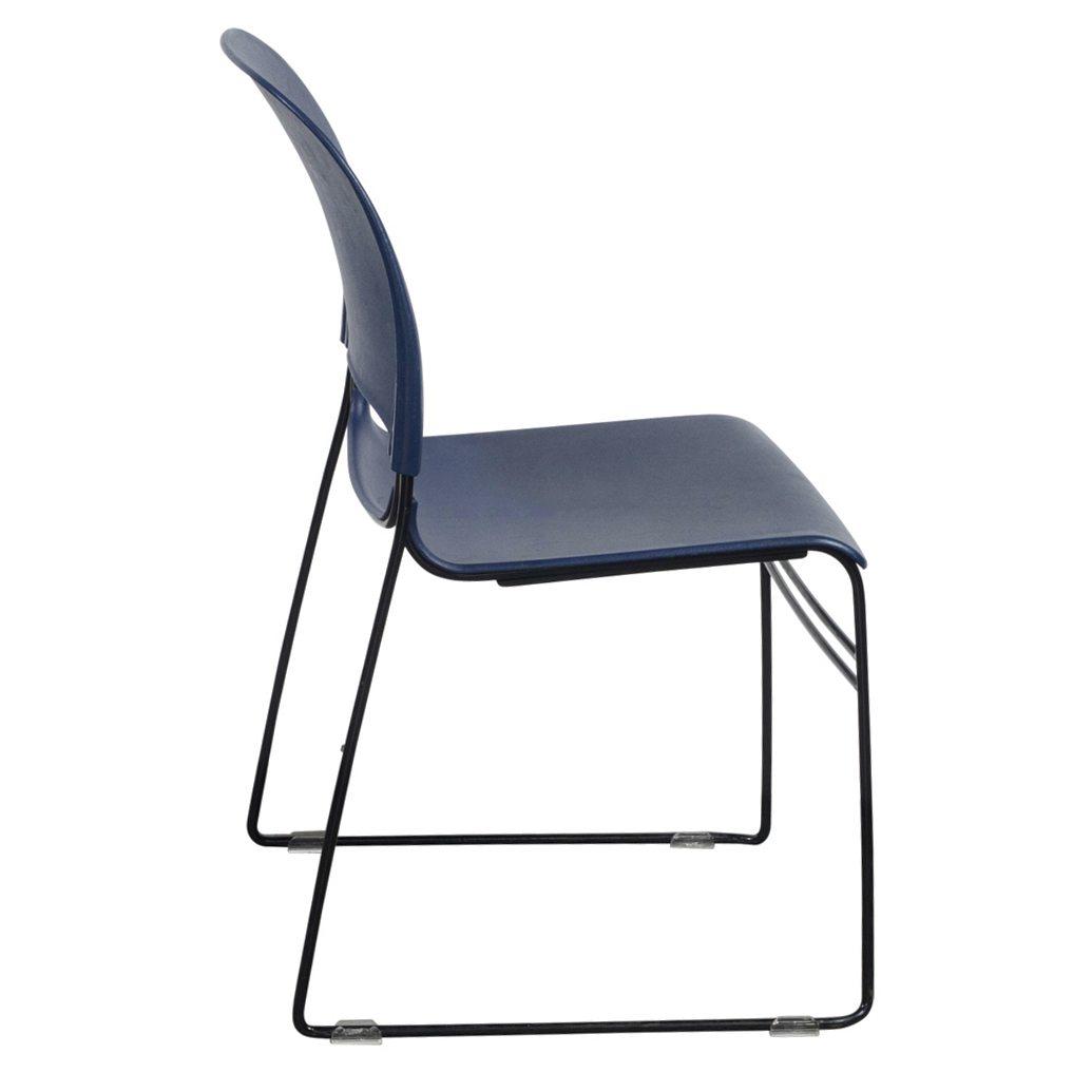 Herman Miller Limerick Used Plastic Stack Chair Blue