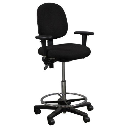 Office Master-5500-Black Stool-01