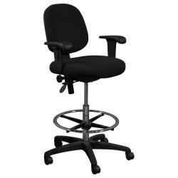 Office Master Stool-5500-Black-01