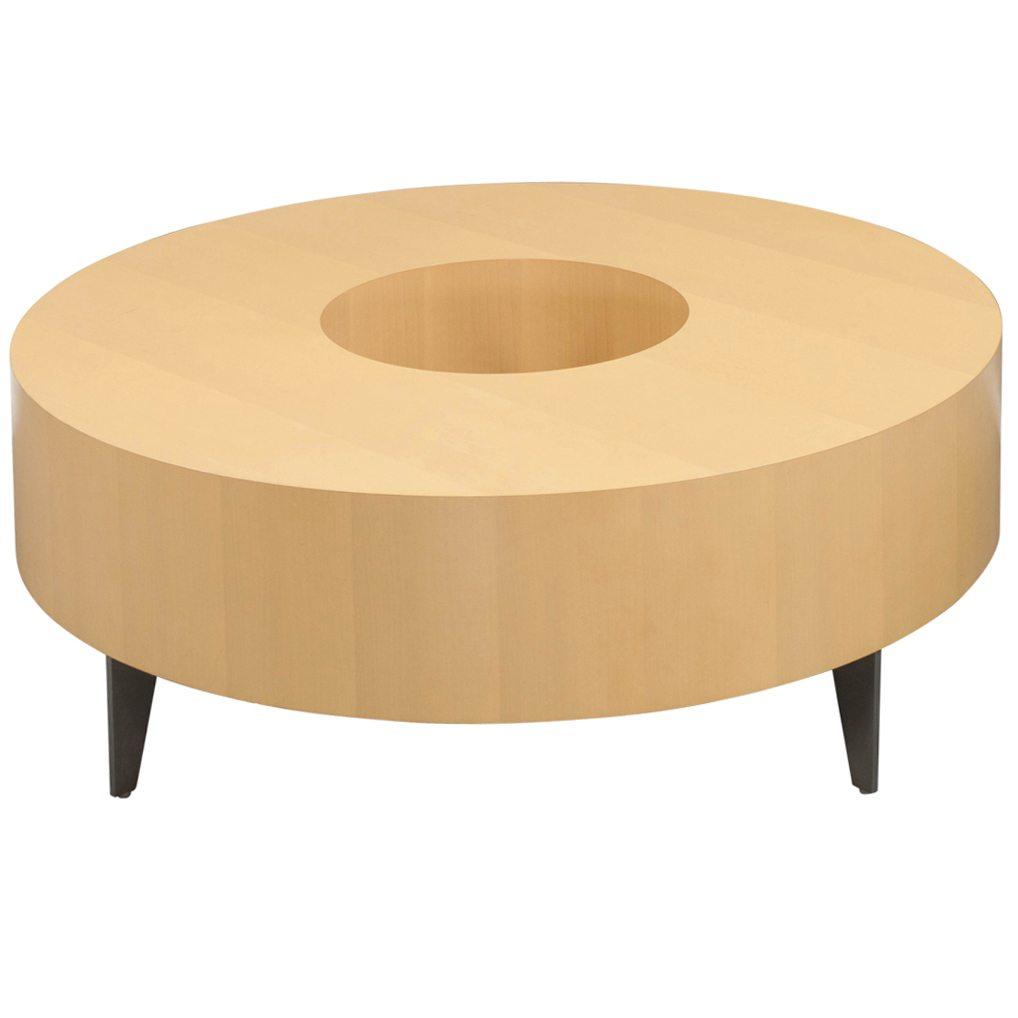 Steelcase Brayton Used Veneer Modular Coffee Table Maple National Office Interiors And