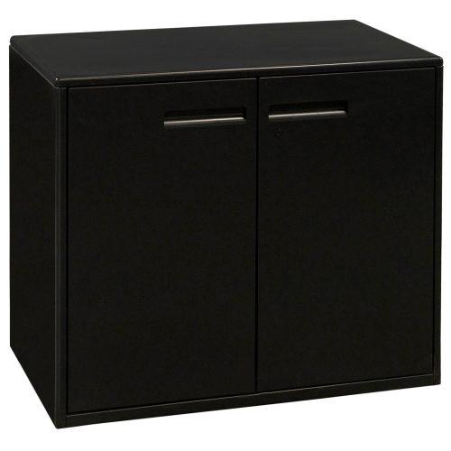 Haworth-27 Inch Storage Cabinet-Charcoal-01