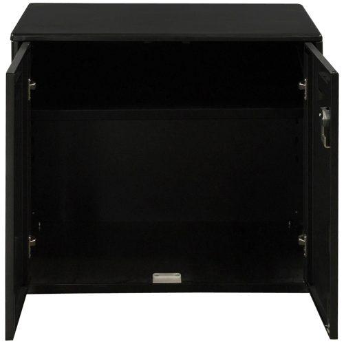 Haworth-27 Inch Storage Cabinet-Charcoal-02