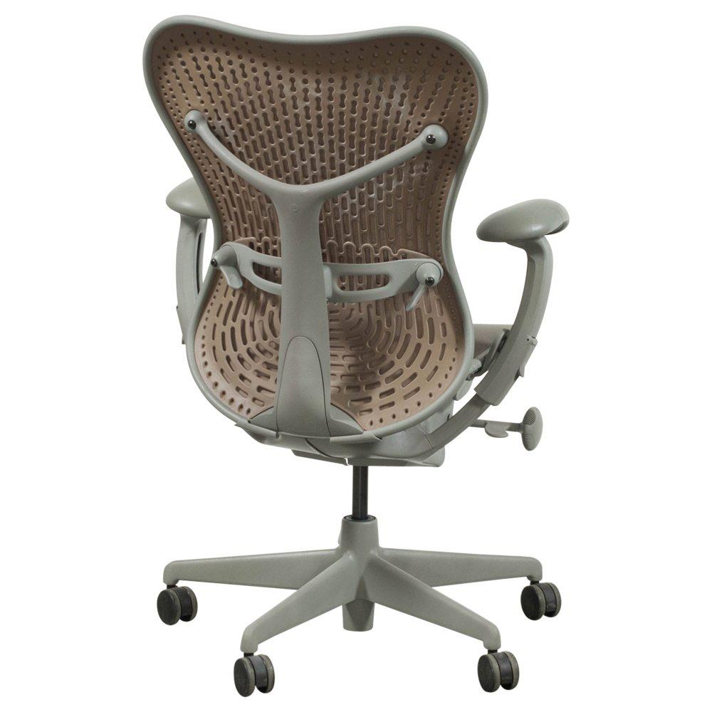 herman miller mirra used mesh task chair