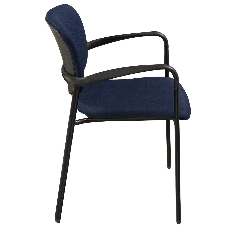 Haworth Improv Used Stack Chair Blue