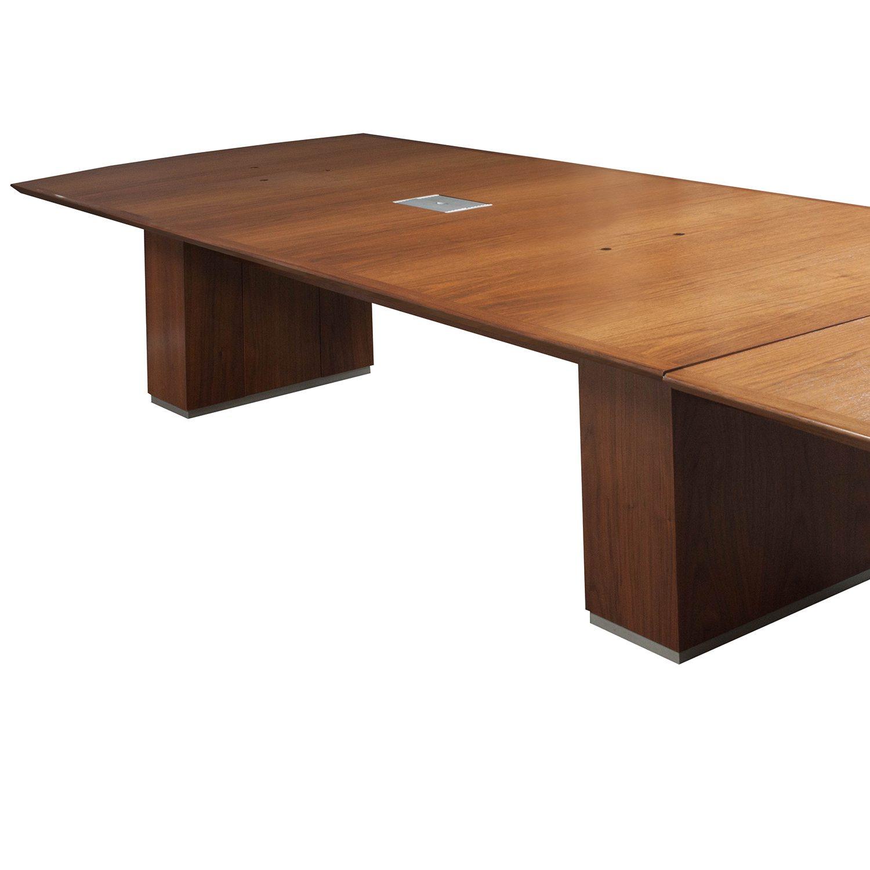 48 Round Wood Folding Table