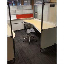 Herman Miller My Studio 8x8 - V Desk
