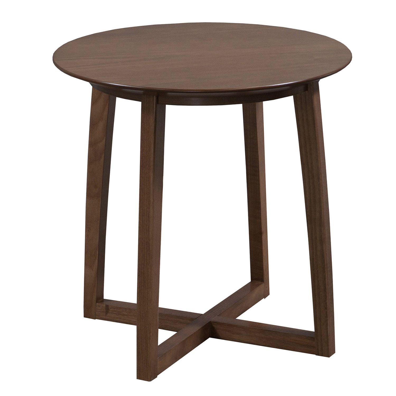 Carolina modern amenity used veneer end table american for 11 inch table